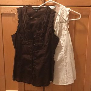 Two express tanks with unique buttons and detail